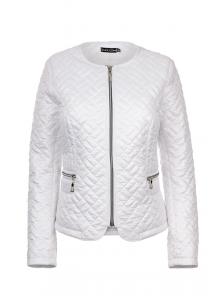 "Весенняя куртка ""Шанель"", арт.№178, р-ры 46-54 белый"