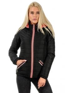 """Демисезонная куртка """"Саманта"""", арт.№181, р-ры 42-48 черный"""