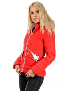 """Демисезонная куртка """"Бланка"""", арт.№182, 42-50 красный"""