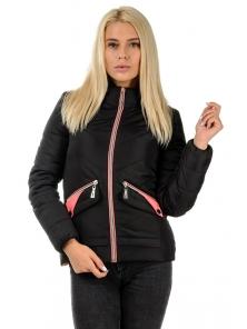 """Демисезонная куртка """"Бланка"""", арт.№182, 42-50 черный"""