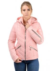 """Демисезонная куртка """"Элина"""", арт.№195, р-ры 42-50 розовый"""