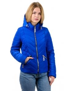 "Демисезонная куртка ""Кристи"", р-ры 42-50, №214 электрик"