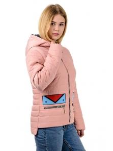 """Весенняя куртка """"Нэнси"""", арт.№199 р-ры 42-48 розовый"""
