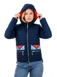 "Весенняя куртка ""Нэнси"", арт.№199 р-ры 42-48 синий"