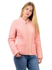 """Демисезонная куртка """"Брук"""", арт.№201, р-ры 42-48 розовый"""
