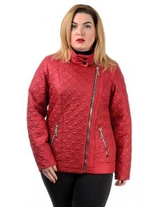 """Весенняя куртка """"Келли"""", арт.№ 202 р-ры 46-56 красный"""