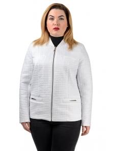 """Демисезонная куртка """"Жаклин"""", арт.№203, 50-56 белый"""