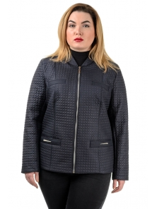 "Демисезонная куртка ""Жаклин"", арт.№203, 50-56 синий"