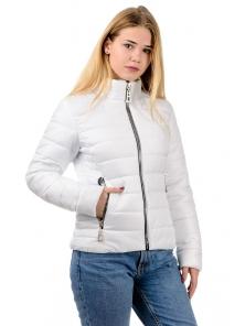 """Демисезонная куртка """"Пэрис"""", арт.№204, 44-50 белый"""