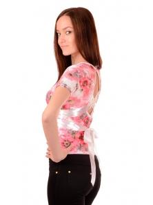 """Летняя футболка """"Лейла"""", размеры 44-48, арт.211.3"""