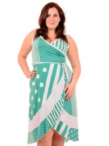 Стильное платье больших размеров украина