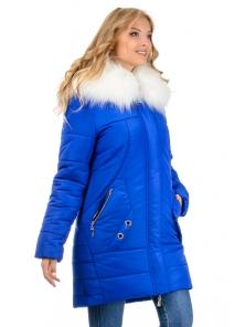 Зимняя куртка-парка «Снежана», р-ры 46-52, №219 электрик