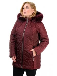 Зимняя куртка «Кимберли», р-ры 50-58, №220 бордо