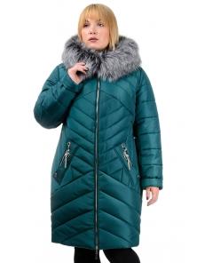 Зимняя куртка «Глория», р-ры 50-56, №223 зеленый