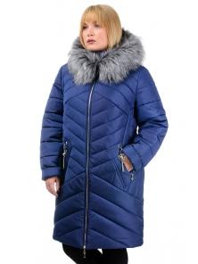 Зимняя куртка «Глория», р-ры 50-56, №223 т.синий