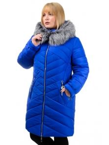 Зимняя куртка «Глория», р-ры 50-56, №223 электрик