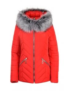 """Зимняя куртка """"Конти"""", р-ры 42-50, №226 красный"""