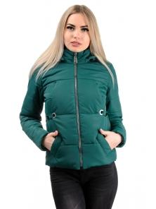 Демисезонная куртка «Каисса», р-ры 42-50, №229 т.зеленый