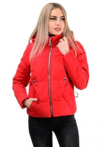 Демисезонная куртка «Каисса»,р-ры 42-50, №229 красный