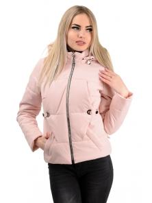 Демисезонная куртка «Каисса»,р-ры 42-50, №229 розовый