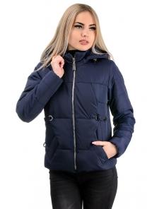 Демисезонная куртка «Каисса», р-ры 42-50, №229 т.синий