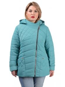 Демисезонная куртка «Тайра»,р-ры 50-56, №230 мята