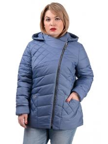 Демисезонная куртка «Тайра»,р-ры 50-56, №230 джинс