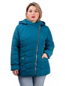 Демисезонная куртка «Тайра»,р-ры 50-56, №230 морская волна