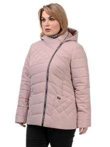 Демисезонная куртка «Тайра»,р-ры 50-56, №230 пудра