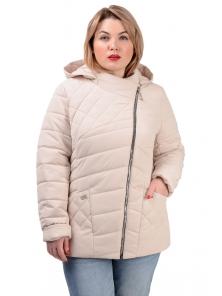 Демисезонная куртка «Тайра»,р-ры 50-56, №230 светлый беж
