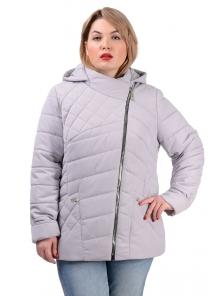 Демисезонная куртка «Тайра»,р-ры 50-56, №230 светло-серый