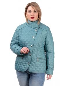 Демисезонная куртка «Фрея»,р-ры 50-56, №231 мята