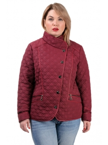 fc75271be6409e Демісезонна куртка «Фрея», р-ри 50-56, №231 бордо