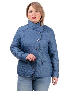 Демисезонная куртка «Фрея»,р-ры 50-56, №231 джинс