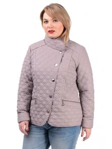 Демисезонная куртка «Фрея»,р-ры 50-56, №231 т.беж