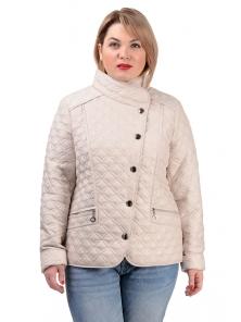 Демисезонная куртка «Фрея»,р-ры 50-56, №231 св.беж