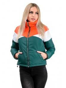 Демисезонная куртка «Яника»,р-ры 42-48, №232 зеленый