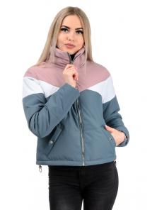 Демисезонная куртка «Яника»,р-ры 42-48, №232 серый