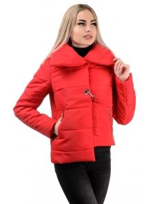 Демисезонная куртка «Далия»,р-ры 42-48, №234 красный