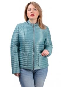 Демисезонная куртка «Вива», р-ры 50-56, №235 мята