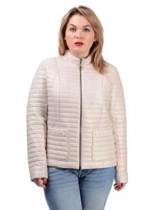 Демисезонная куртка «Вива», р-ры 50-56, №235 св.беж