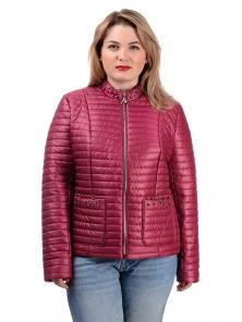 Демисезонная куртка «Вива»,р-ры 50-56, №235 сангрия