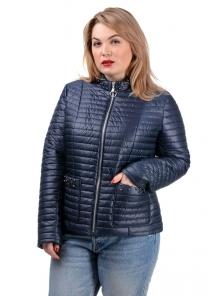 Демисезонная куртка «Вива»,р-ры 50-56, №235 т.синий