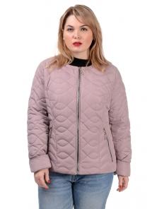 Демисезонная куртка «Юрата», р-ры 50-56, №236 пудра