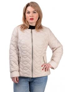 Демисезонная куртка «Юрата», р-ры 50-56, №236 св.беж
