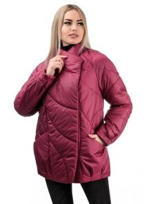 Демисезонная куртка «Эдита», р-ры 44-50, №237 сангрия