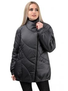 Демисезонная куртка «Эдита», р-ры 44-50, №237 черный