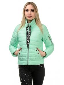 Демисезонная куртка «Илва», р-ры 42-48, №238 мята