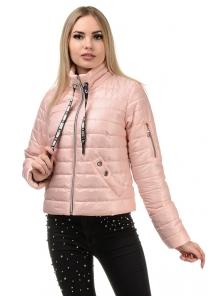 Демисезонная куртка «Илва», р-ры 42-48, №238 пудра