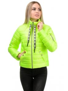 Демисезонная куртка «Илва», р-ры 42-48, №238 салат